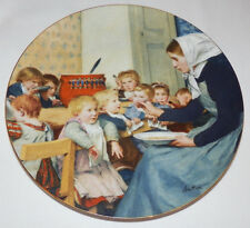 Langenthal 6th Plate THE DAY NURSERY Albert Anker Heritage Collection COA & Box