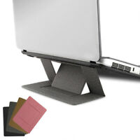 Foldable Laptop Notebook Stand Invisible Holder Portable Pad Self Adhesive Mount
