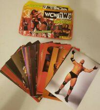 Lot of 53 - 1998 Panini WCW/NWO Wrestling Superstars Photo Cards