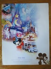 '03 Walt Disney World 100 Years of Magic Celebration STUDIOS Poster MICKEY MOUSE