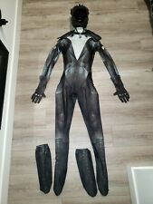 CATWOMAN COSTUME ARKHAM CITY REEVZ FX COMPLETE GREAT SZ SM BATMAN HALLOWEEN!