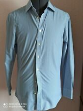 "Charles Tyrwhitt  mens formal non iron slim fit shirt 14.5"" collar excellent M22"