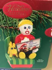 "MR. BILL READS A CHRISTMAS POSTCARD ORNAMENT SOUND ""Ohhh Noooo!!!"" SNL Rare"