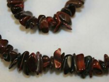 NATURAL RED TIGER EYES GEMSTONE NECKLACE 36 INCHES HAND MADE  JEWELLERY