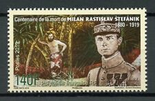 French Polynesia Stamps 2019 MNH WWI WW1 Milan Stefanik Military People 1v Set