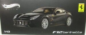 Ferrari F12 Berlinetta (Dark Blue) 1:43 Hot Wheels