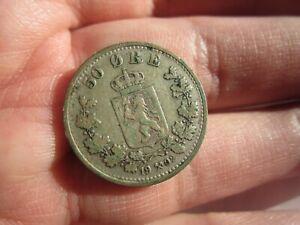1902 NORWAY 50 ORE