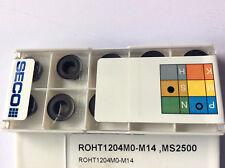 10 x Wendeplatten SECO ROHT 1204MO-M14 MS2500 NEU! Mit Rechnung!
