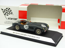 Starter Factory Built 1/43 - Jaguar Type C Winner Le Mans 1953 N°18