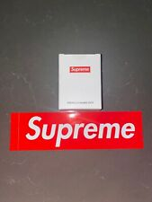Supreme Shower Cap New Factory Sealed With Box Logo Sticker