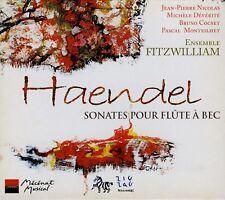HAENDEL  sonates pour flutes à bec  ENSEMBLE FITZWILLIAM