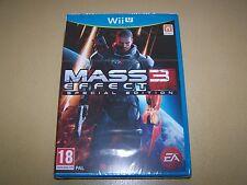 Mass Effect 3 Especial Edition Nintendo Wii U ** NUEVO Y SELLADO **
