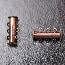 5pcs 3rank Gold, Silver, Copper, Black, Bronze & magneti Clasps Hooks