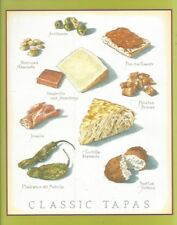 Cooks Illustrated ~ BACK COVER ONLY ~ Framable  Art John Burgoyne: CLASSIC TAPAS