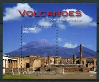 Gambia 2016 MNH Volcanoes of World Mount Vesuvius 1v S/S Landscapes Stamps