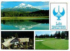 Lake Shastina Postcard Northern California Resort Recreational Community Vintage