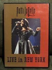 Patti Labelle Live In New York - at the Apollo Theatre (DVD, 2000)