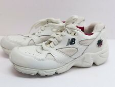 Vintage 1990's New Balance 595 Walk Run Abzorb White Womens Sz 7 Shoes Sneakers