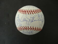 1986 New York Mets Team-Signed 1986 Gold WS Baseball Autograph Auto Steiner