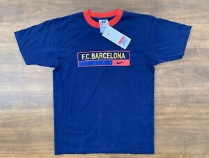 Nike Boys Barcelona T Shirt Size Large New With Tags