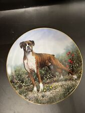Standing Proud Boxers Collector Plate Simon Mendez Danbury Mint Limited Edition