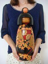 HUGE!! Japanese sosaku kokeshi doll by Yokoyama Teruo 41 cm 16 inches