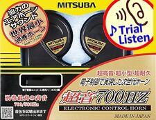 Mitsuba Ultrasonic 700HZ HOS-06B Car Horn made in Japan