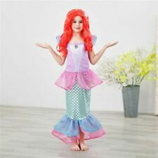 Christmas Ariel Dress Little Mermaid Carnival Costume Child Evening Dresses
