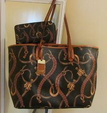 Ralph Lauren Caldwell Belt Classic Tote Shoulder bag/Wallet READY TO SHIP!