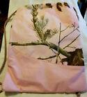 Realtree Backpack Pink Camo String Drawstring Sack Gym Tote Bag Travel GUC