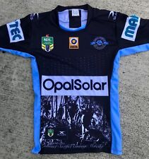 Cronulla Sharks Kokoda  Game  Players Jersey Issue 2017 Issue Grip Gps
