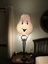 Vintage Ghost Blow Mold Lamp Post Cover Halloween RARE Costume Casper Stay Puft