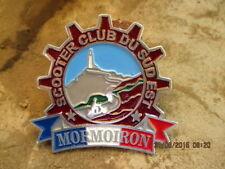 LAMBRETTA VESPA PLACCA BADGE MORMOIRON FRANCE PLAKATTE scooter club du Sud est