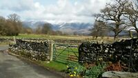 27th MARCH 2021 Holiday Lodge Cottage Lake District Cumbria Field House