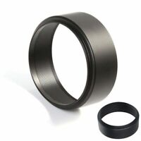 Universal 77mm Thread Screw-in Metal Lens Hood For Canon Nikon Sony DSLR Camera
