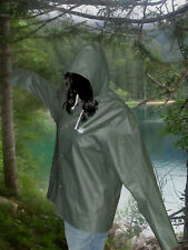 Grundens Regenjacke PVC Gummi Jacke Mantel Rubber Raincoat Friesennerz Ölzeug