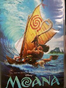 Moana DVD polynesian family animation Disney cartoon great role model for girls