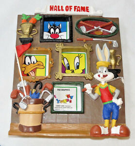 Hall of Fame Looney Tunes FIGI Graphics multi picture frame bugs bunny pre owned