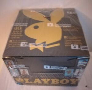 PLAYBOY CHROMIUM COVERS TRADING CARDS - NEW FACTORY SEALED BOX