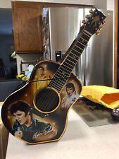 Ltd Ed Bradford Exchange Very Rare Elvis Presley Guitar Cookie Jar