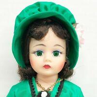 "Madame Alexander SCARLETT Doll 10"" Vintage Portrette 1180 Tagged Mint in Box"