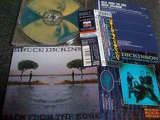 Bruce Dickinson , IRON MAIDEN/  back from the edge / JAPAN LTD CD OBI