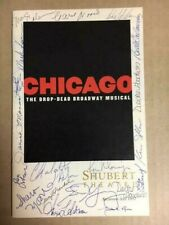 Autographed Chicago The Musical Program Shubert Theatre 1997 21 Sigs Jasmine Guy