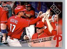2017 Topps Now #508 Rhys Hoskins Pre Rookie Call-Up Card Philadelphia Phillies