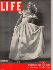 1945 Life December 10-Nurnburg Trials; Woman's Medical College of PA;Prentice WI