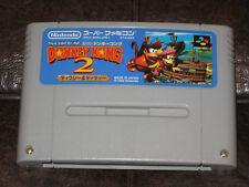 Super Donkey Kong 2 - Super Famicom SFC SNES JP Japan Import II Country Kountry