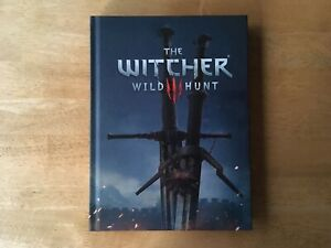 The Witcher 3 III Wild Hunt Hardcover Hardback Strategy Guide