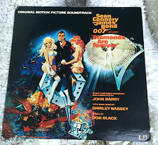 James Bond Sean Connery 007 Diamonds  Authentic Vinyl LP Record ULTRA MEGA RARE