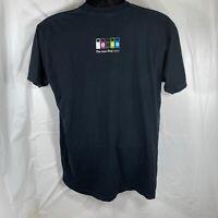 Apple Computers iPod Nano Graphic Men XL Short Sleeve T Shirt Employee Staff Tee