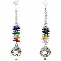 Crystal Suncatcher Chandelier Ball Prism Hanging Pendant Window Decor Rainbow